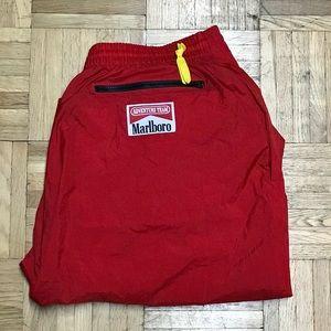 Vintage Marlboro Nylon Track Pants